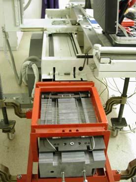 Montage eines Durchleuchtungsgerätes